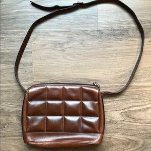 Final Price Vintage Ferragamo Leather Shoulder Bag
